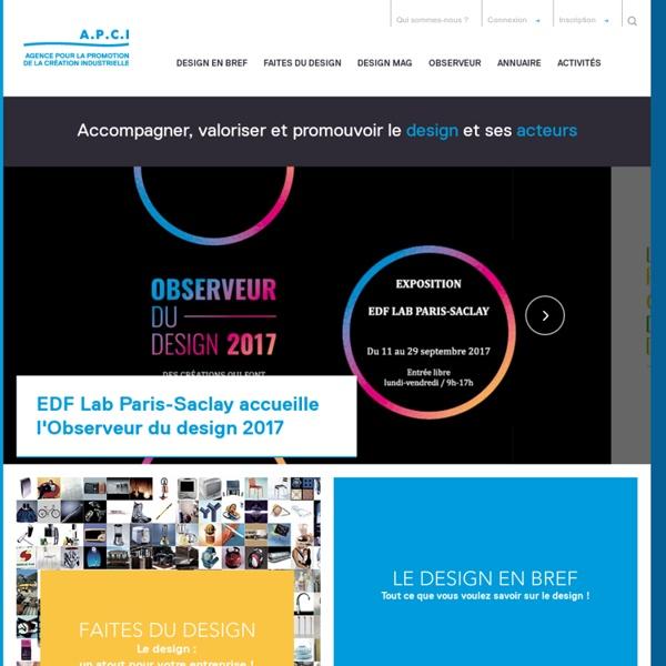 APCI - Agence pour la promotion de la création industrielle