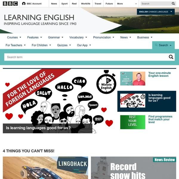 BBC Learning English - Learning English