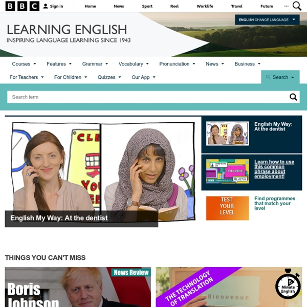 Learning English - Home