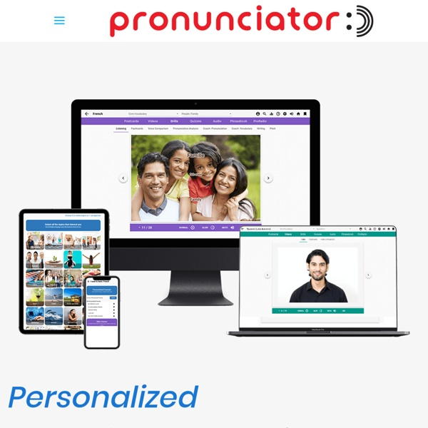 Pronunciator - Learn 60 Languages - 100% Free - StumbleUpon