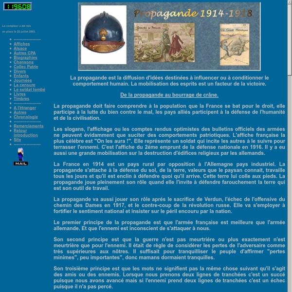 Propagande 1914-1918