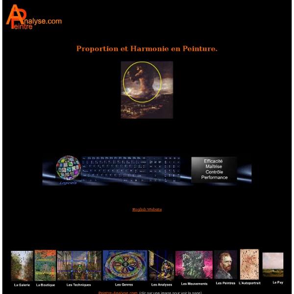 Proportion et Harmonie en Peinture.Art,culture,peinture.