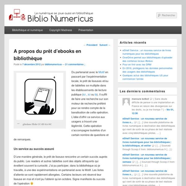 Biblio Numericus - Le numérique se joue aussi en bibliothèque