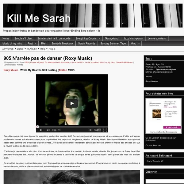 Kill Me Sarah