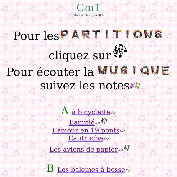 Chants CM1