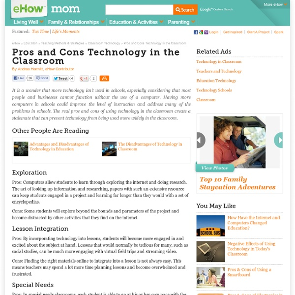 research paper on technology in the classroom Lisa nielsen of the new york city department of education says teachers can use technology in the classroom to expand students' horizons does technology belong in classroom instruction tablets and even smartphones to research and complete assignments.