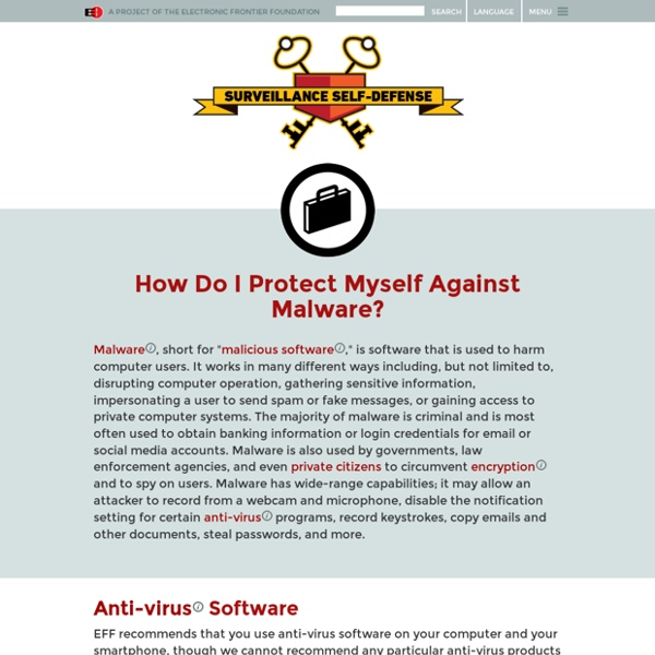 How Do I Protect Myself Against Malware?