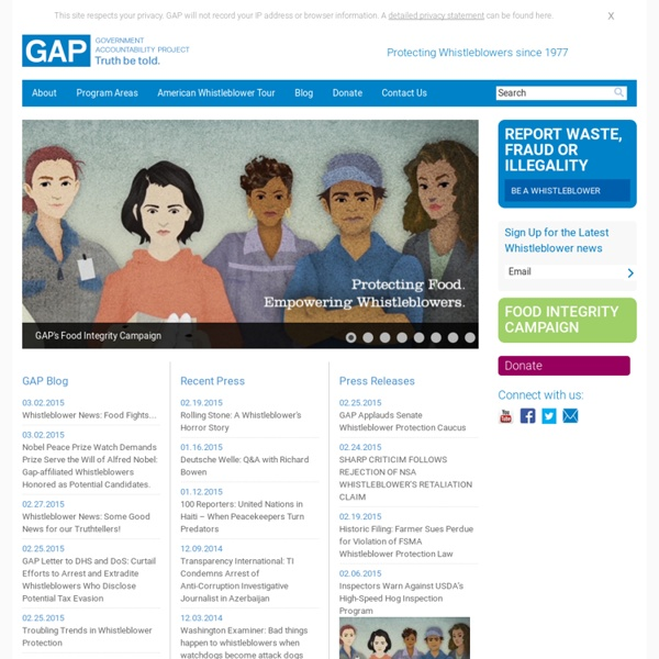 GAP Government Accountability Project