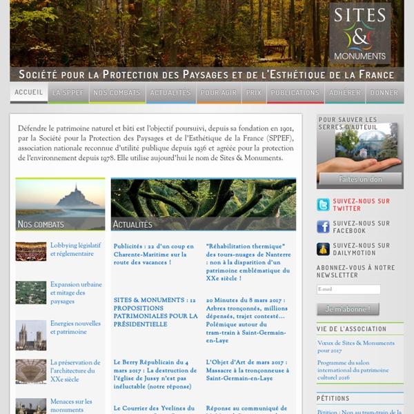 Société pour la Protection des Paysages et de l'Esthétique de la France