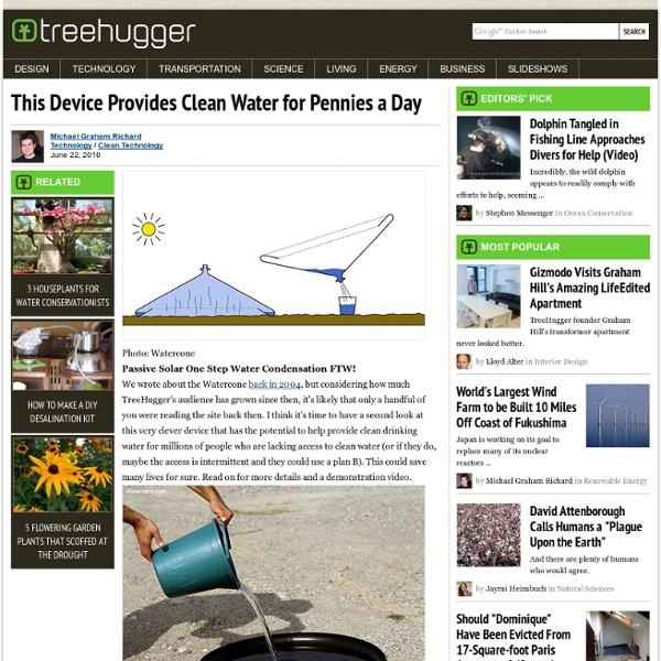 Passive Solar Water Still: Cheap, Clean Water