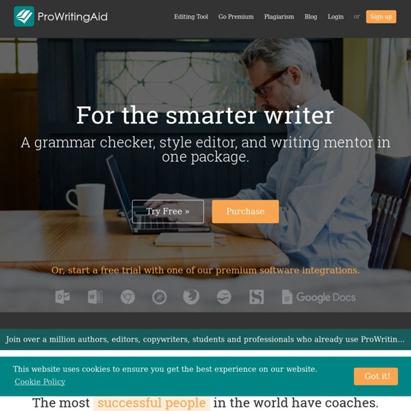 Pro Writing Aid - Writing Improvement & Editing Software