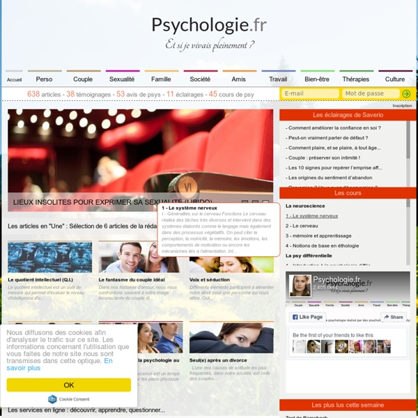 Psychologie.fr : le site de la psychologie et du psychologue