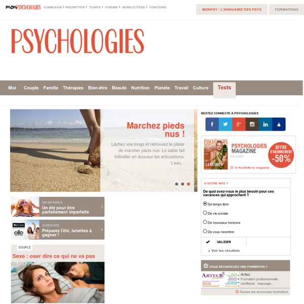 Psychologies.com, psychologie, mieux se connaître pour mieux vivre sa vie