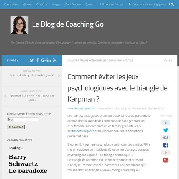 Comment éviter les jeux psychologiques avec le triangle de Karpman