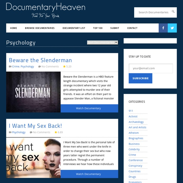 Watch Free Documentaries Online