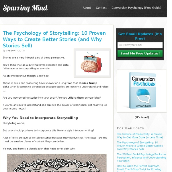 The Psychology of Digital Storytelling