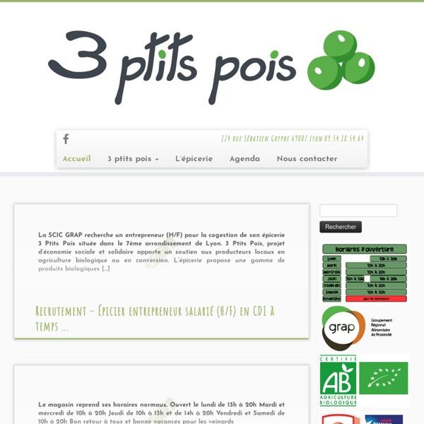 """""""3 Ptits Pois"""""""