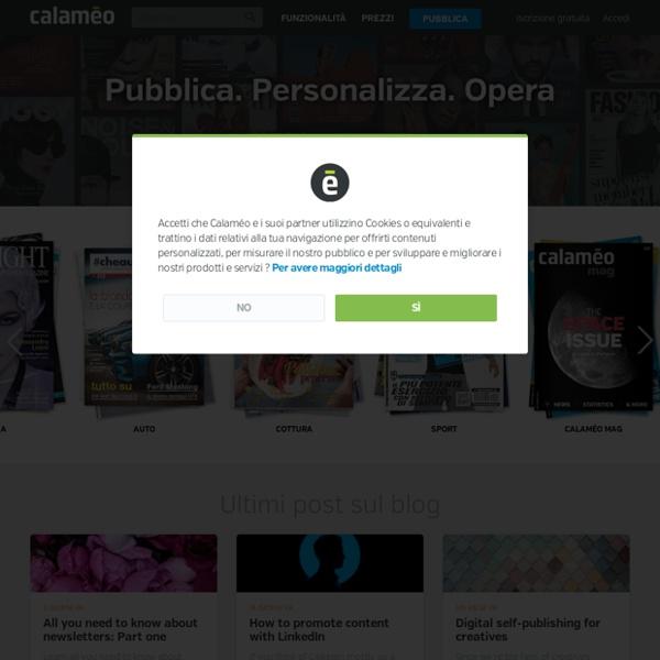 Calaméo - Pubblicazione Piattaforma per i documenti e Riviste
