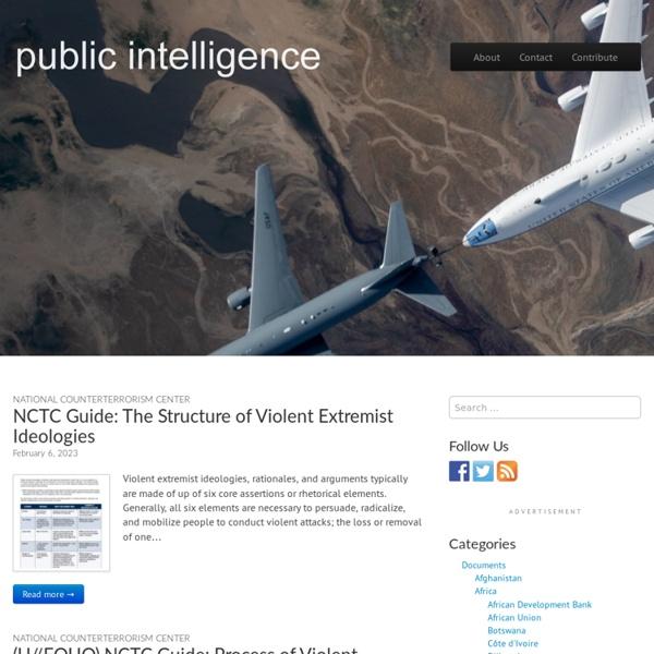 Public Intelligence