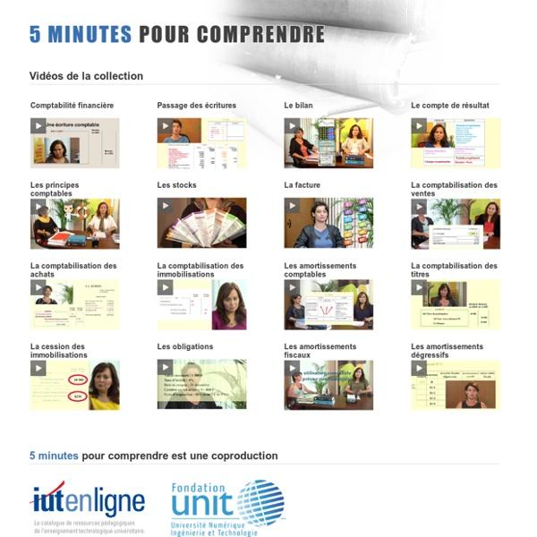 5 minutes pour comprendre... la comptabilité (vidéo public.iutenligne)