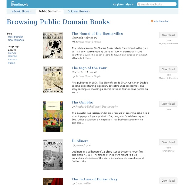 Domaine Public / Populaires