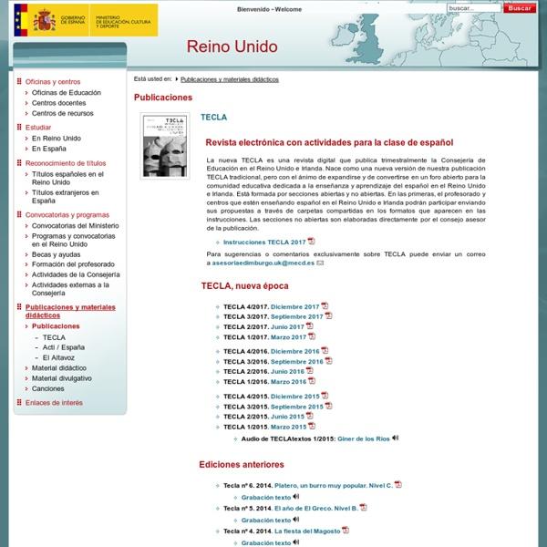 Consejerias Exteriores : Publicaciones