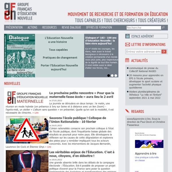 Groupe Français d'Education Nouvelle