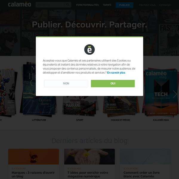Calaméo - Publications de documents interactifs en ligne