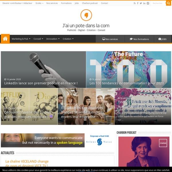 › Blog Publicité - Digital - Marketing