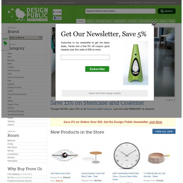 Design Public® – Modern Furniture, Bedding, and Contemporary Design with a Smile