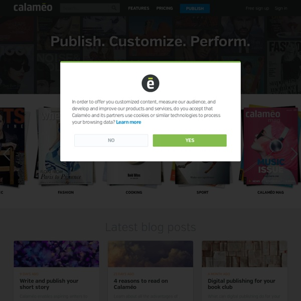 Calaméo - Publishing Platform for Documents and Magazines
