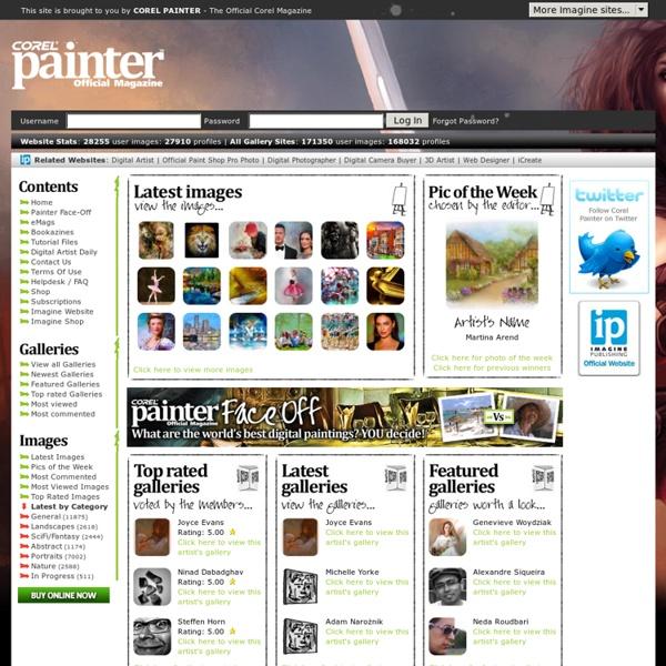 Corel Painter Official Magazine