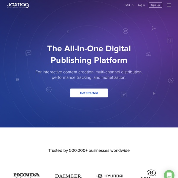 FREE Interactive Service for Digital Magazine publishing and hosting
