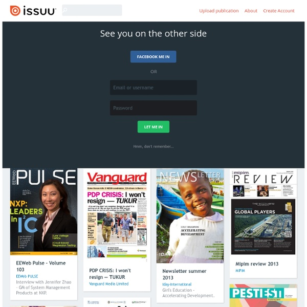 Digital Publishing Platform for Magazines, Catalogs, and more