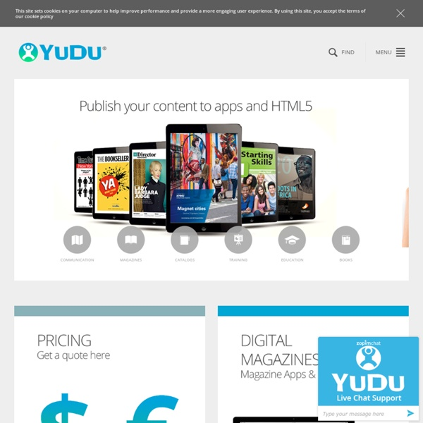 Digital Publishing to iPad, Web and Android