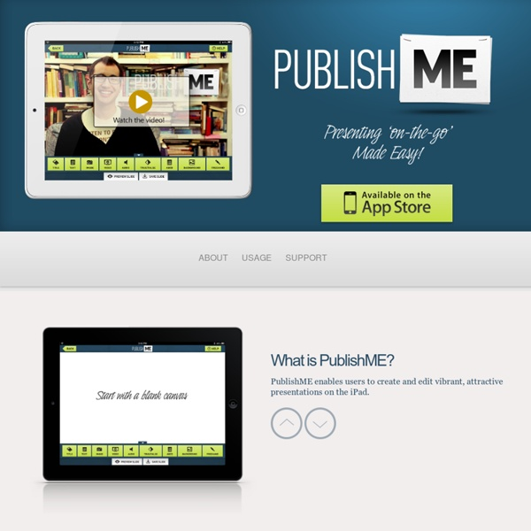 PublishME - Create Presentations 'on-the-go'