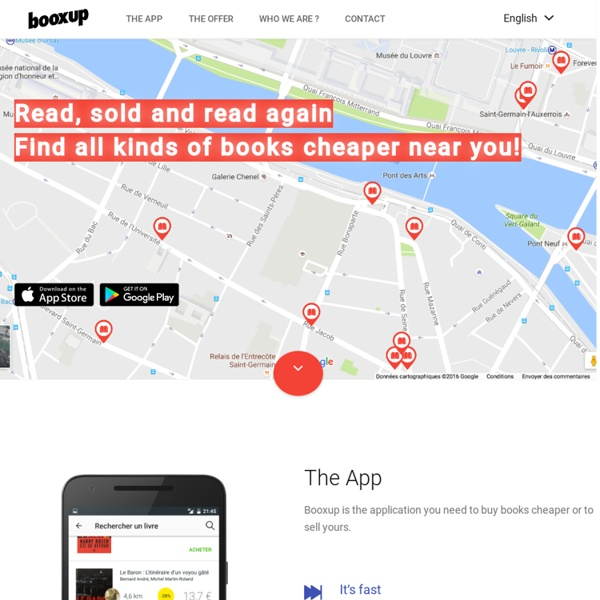 Booxup - free your books !