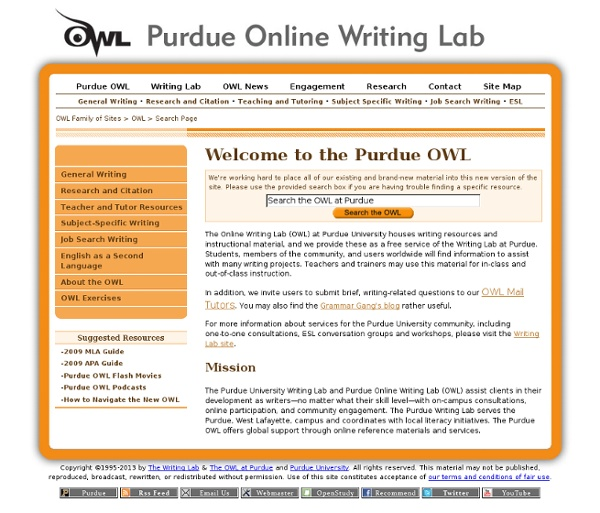 purdue university online writing