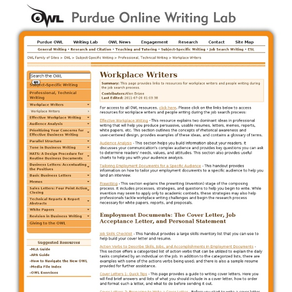owl online writing Owl - online writing center the owl allows you to upload a paper for feedback from a tutor the owl also provides virtual synchrous tutoring sessions for the.