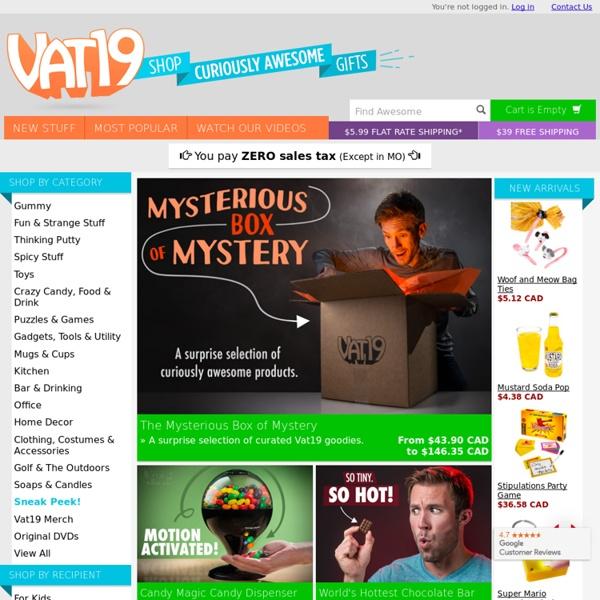 Vat19.com: Unique Gifts & Unusual Gift Ideas