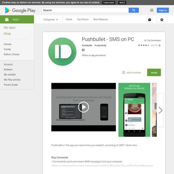 Pushbullet - Android Apps on Google Play