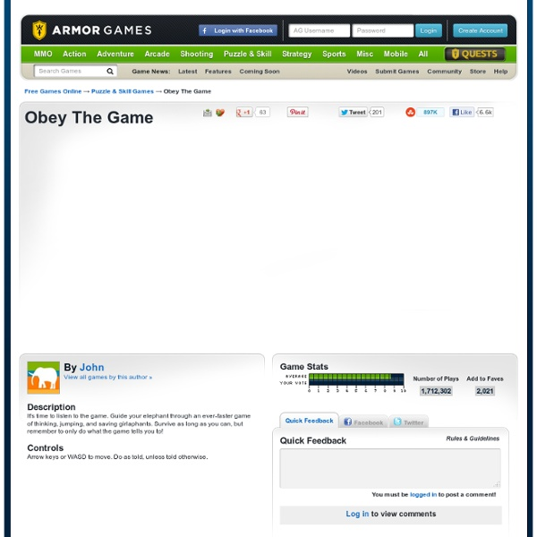 Obey The Game