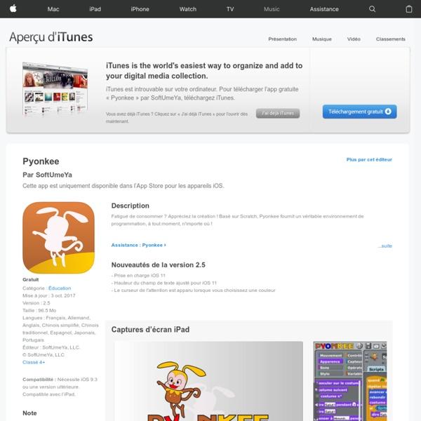 Pyonkee dans l'App Store