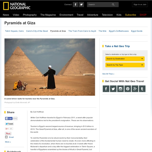 National Geographic: Egypt Pyramids