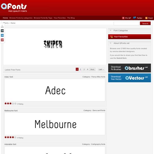 Q Fonts - Quality Free Fonts