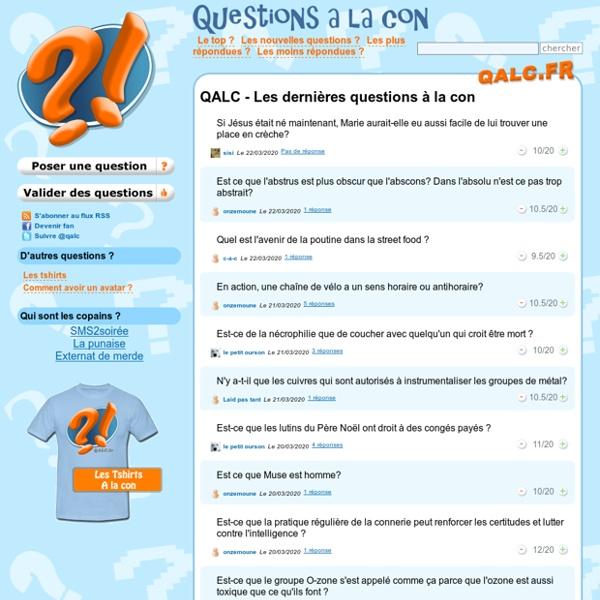 QALC - Question à la con