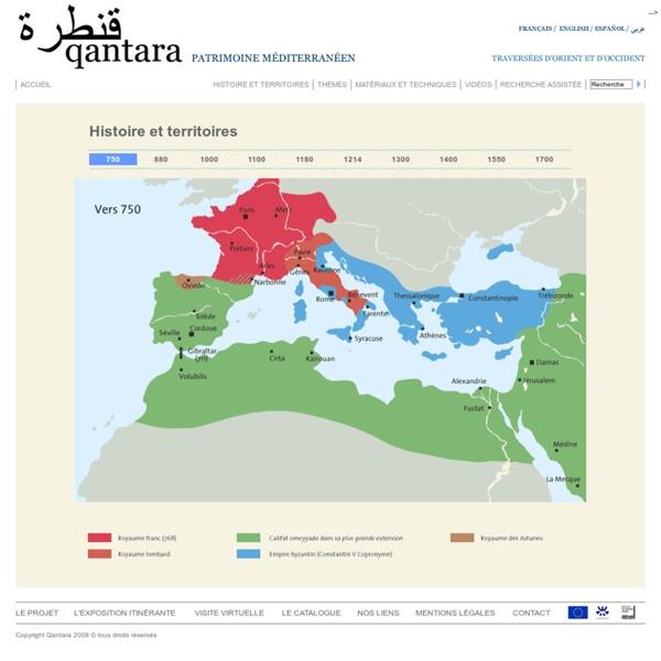 Qantara - cartes du monde musulman