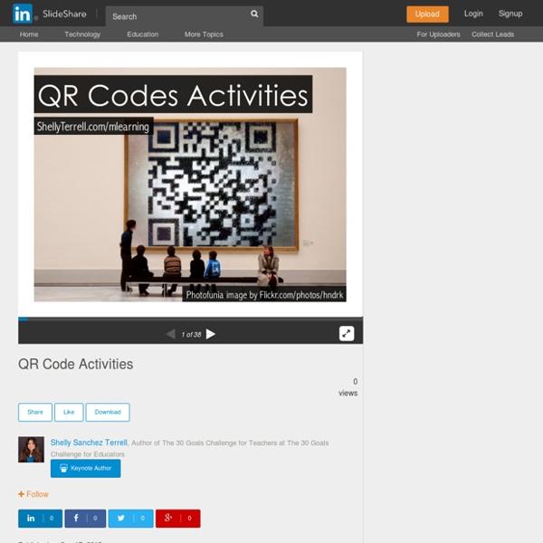 QR Code Activities