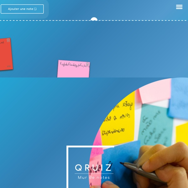 QRuiz - Votre tableau de notes en ligne gratuit