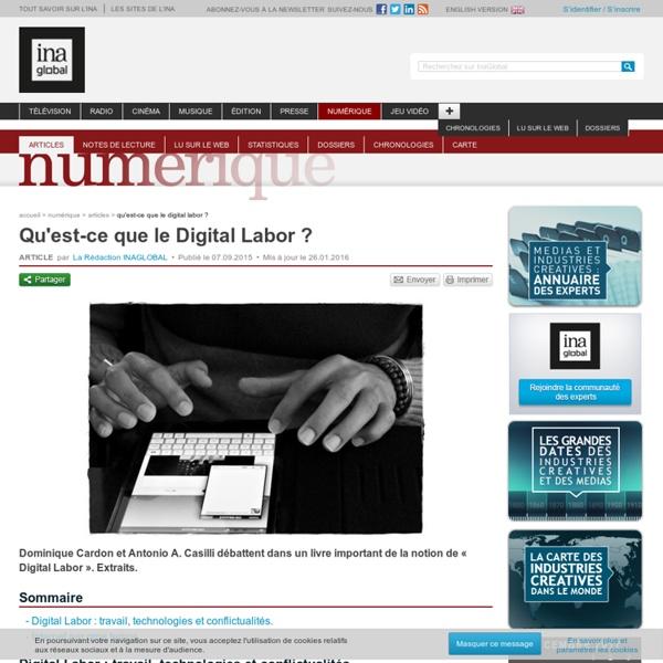 Qu'est-ce que le Digital Labor